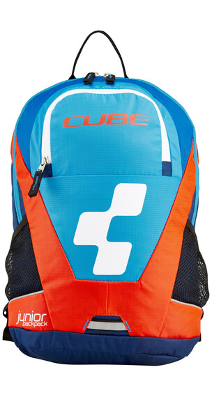 Cube Junior Rucksack blue'n'flashred